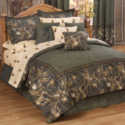 Browning Whitetails - 4pc Queen Comforter Set