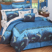 Coral reef - 4pc Queen Comforter Set