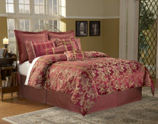 Crawford - 14 pc King Super Pack Bedding Set