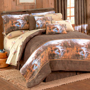 Duck Approach - 4pc King Comforter Set