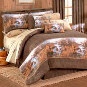 Duck Approach Oblong Throw Pillow - Tan