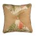 La Selva Square Throw Pillow - Natural