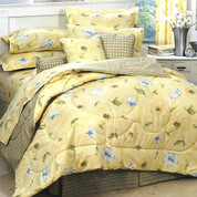 Laura 4pc Queen Comforter Set