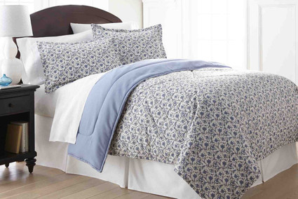 Micro Flannel - 3pc KING Comforter Set - Jacobean