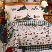 Northern Exposure - 4pc Full Comforter Set