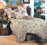 Palm Grove 4pc Full Comforter Set