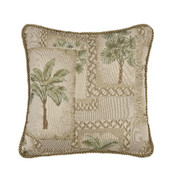 Palm Grove Square Pillow