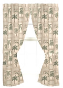 Palm Grove Poletop Curtain