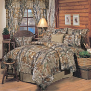 Realtree AP - 4pc Queen Comforter Set