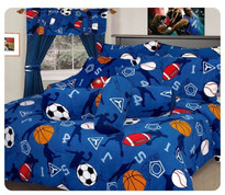 Sport Comforter Set Twin size