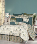 Suzette - 4 pc QUEEN Comforter Set