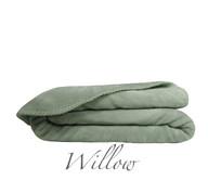 Ultra Velvet - F/QUEEN Blanket - Willow