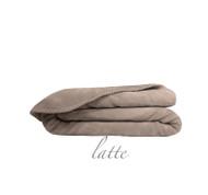 Ultra Velvet King Blanket - Latte