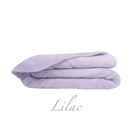 Ultra Velvet Twin Blanket - Lilac