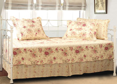 Antique Rose Daybed Cover SET