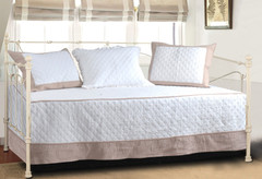Brentwood Daybed Cover SET - Ivory