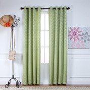 Adrian Grommet Top Curtain Panel - LEAF