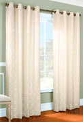 Anna Grommet Top Curtain pair - IVORY