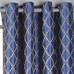 Broadway Grommet Top Curtain Panel - Cobalt