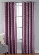 Broadway Grommet Top Curtain Panel - Lilac