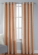 Broadway Grommet Top Curtain Panel - Sand