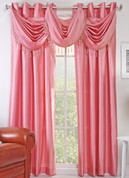 Chelsea Grommet Top Curtain Panel - Rose