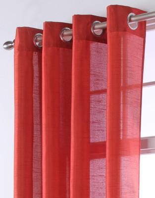 Chelsea Grommet Top Curtain Panels - RUST