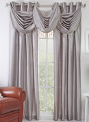 Chelsea Grommet Top Curtain Panel - Silver