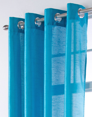 Chelsea Grommet Top Curtain Panels - TEAL