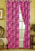 Christina Grommet Top Curtain - Pink