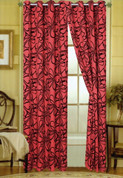 Christina Grommet Top Curtain - Burgundy