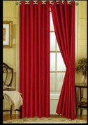 Elaine Grommet Top Curtain - Burgundy
