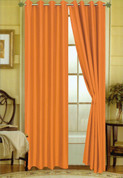 Elaine Grommet Top Curtain - Neon Orange