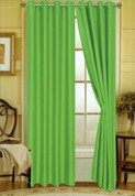 Elaine Grommet Top Curtain - Neon Lime