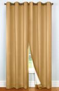 Four Seasons Blackout Grommet Top Curtain pair - MUSHROOM