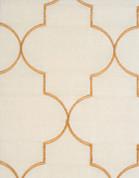 Hudson Embroidered Grommet Top Panel - Vanilla