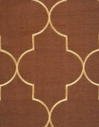 Hudson Embroidered Grommet Top Panel - Espresso
