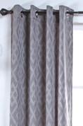 Kelly Grommet Top Curtain Panel - PEWTER