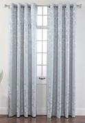Leah Grommet Top Curtain Panel - Mist