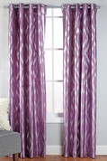 Stanton Grommet Top Curtain Panel  - Lilac