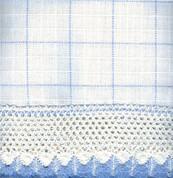 "Adirondack - White/Blue - 24"" tier (pr)"