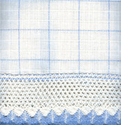 "Adirondack - White/Blue - 36"" tier (pr)"