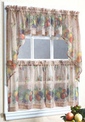 Autumn Fruits kichen curtain
