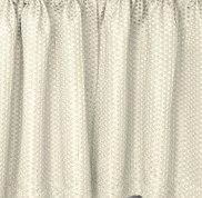Hamden kitchen curtain in ivory