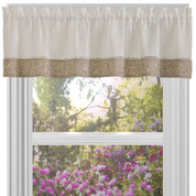 Oakwood Valance - Natural