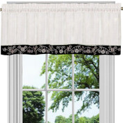 Oakwood Valance - Black