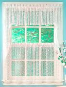 Priscilla Lace Swag Top (pr) - White
