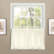 "Vienna Eyelet 36"" tier (pr) - Natural"