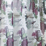 Wine Country Merlot - Valance