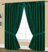 Elaine Pinch Pleated Drape PAIR - Evergreen